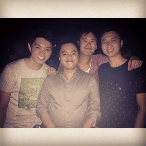 Random nightout with friends